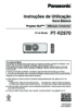PT-RZ870 Operating Instructions (Portuguese)
